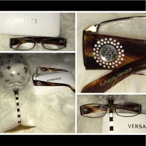 Versace RX glasses